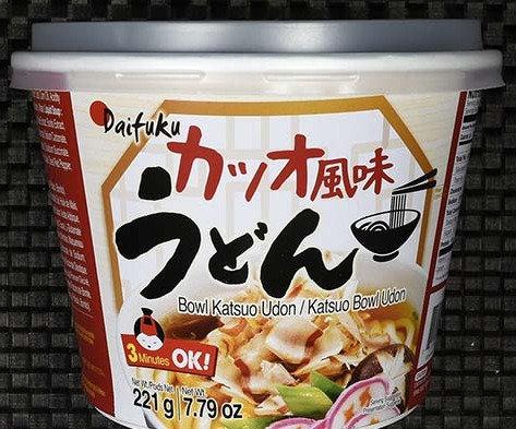 鰹魚口味大碗烏冬 Daifuku Katsuo