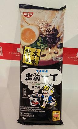 棒丁麵 黑蒜油猪骨汤味 Nissin Bar Noodle Black Garlic Oil Tonkotsu