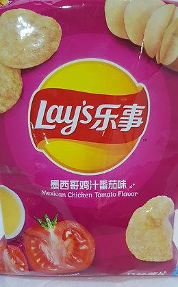乐事薯片-墨西哥鸡汁番茄味 Lays Potato Chip Mexican Chicken