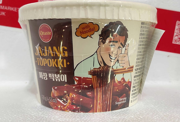 韩国年糕粉丝-炸酱 Rice Cake with Noodle Jajang