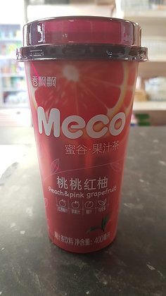 香飘飘果茶 桃桃红柚 Meco Fruit Tea Peach and Grapefruit