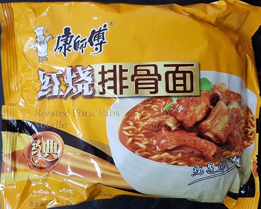 康师傅 红烧排骨面 Roast Pork Rib Noodles