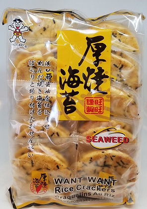 旺旺厚燒海苔 Seaweed Rice Cracker