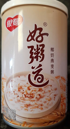 椰奶燕麦粥 Coconut Milk and Oats Congee