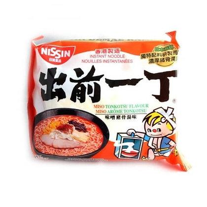出前一丁 味噌猪骨湯味 Nissin Ramen Miso Tonkotsu