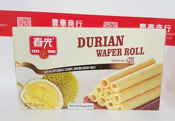 榴莲酥卷 Durian Wafer Roll