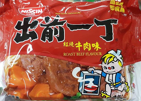 出前一丁 红烧牛肉味 Nissin Ramen Roast Beef Flavour