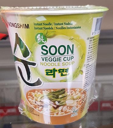 素菜杯面 Soon Veggie Ramyun