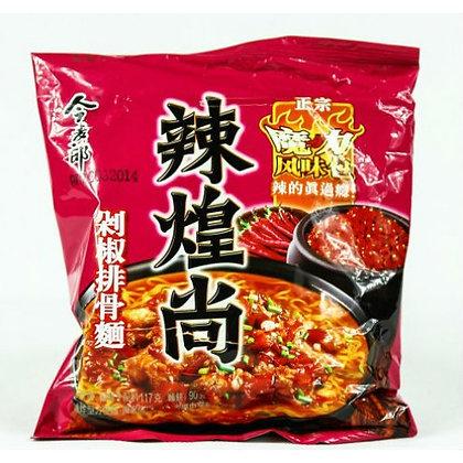 今麦郎 剁椒排骨面 Jinmailang Spicy Pork Flavour