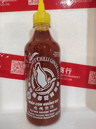 是拉差加姜辣酱 Sriracha Chilli with Ginger