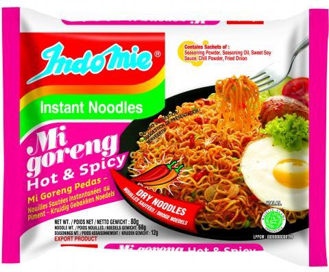 印尼干拌麵 辣味 Mi Goreng Noodle Hot & Spicy