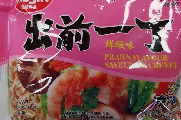 出前一丁 鲜虾味 Nissin Prawn Flavour