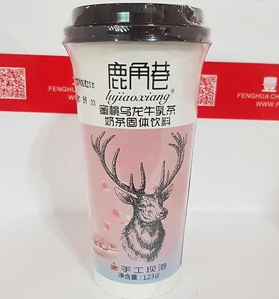 蜜桃乌龙牛乳茶 Peach Milk Tea