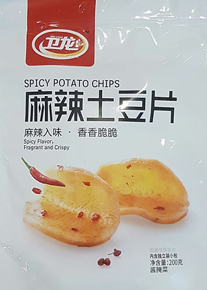 麻辣土豆片 Spicy Potato Chip