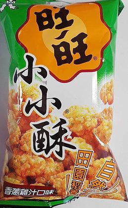 鸡汁 旺旺小小酥 Mini Rice Crackers Chicken