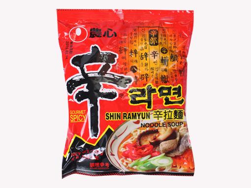 辛拉面 NongShim Shin Ramyun Noodle Soup