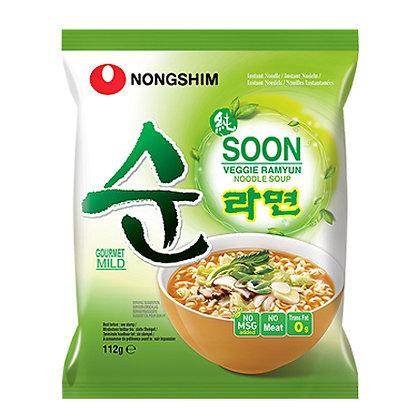韩国素拉面 Soon Veggie Ramyun
