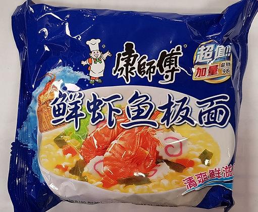 康师傅鲜虾鱼板面 Seafood Noodle