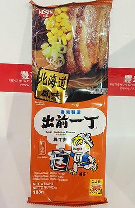 棒丁麵 味噌猪骨汤味 Nissin Bar Noodle Miso Tonkotsu