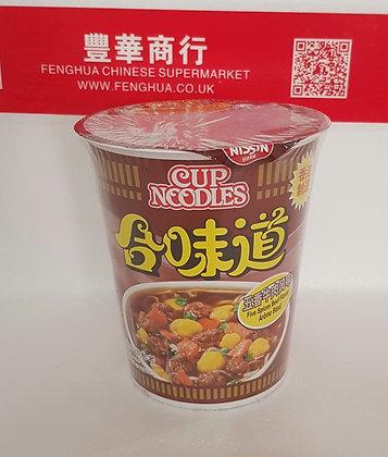 合味道 五香牛肉味 Nissin Cup Noodle Beef