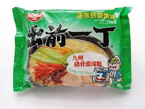 出前一丁 九州猪骨濃湯味 Nissin Ramen Pork