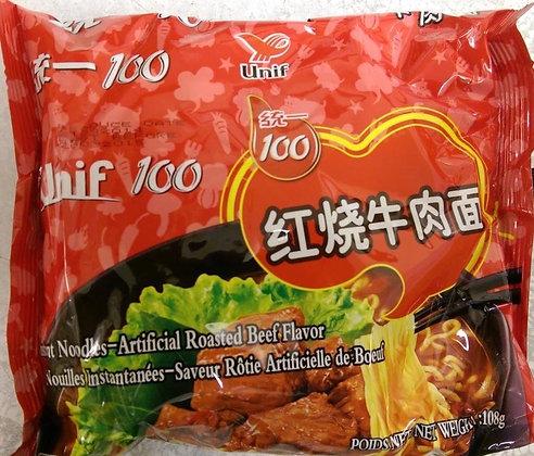统一 红烧牛肉面 Unif Roast Beef Flavour Noodles