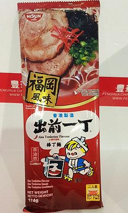 棒丁麵 赤猪骨汤味 Nissin Bar Noodle Aka Tonkotsu