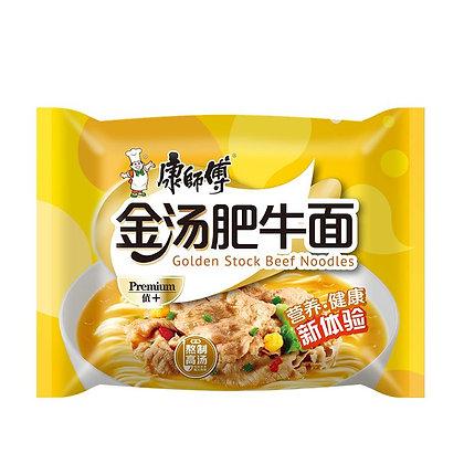 康师傅金汤肥牛面  Golden Stock Beef Noodle