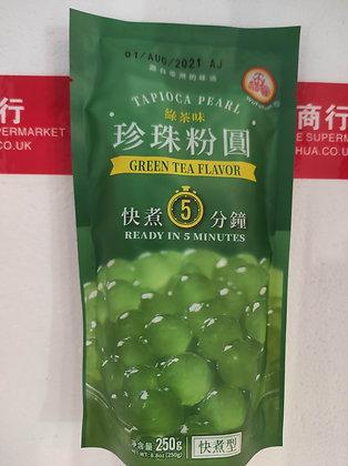 珍珠粉圆-绿茶 Tapioca Pearl Green Tea