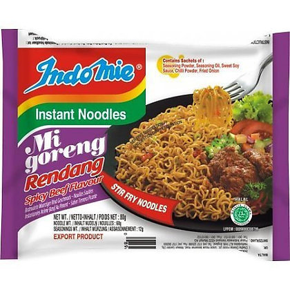 印尼干拌麵 辣牛肉味 Mi Goreng Noodle Redang