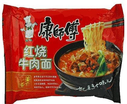康师傅 红烧牛肉面 Mr Kon Hot Beef Noodle