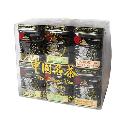 中国名茶 六款 Chinese Famous Tea (6 Varieties)