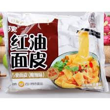 红油面皮 Broad Noodle Chilli Oil Flavour