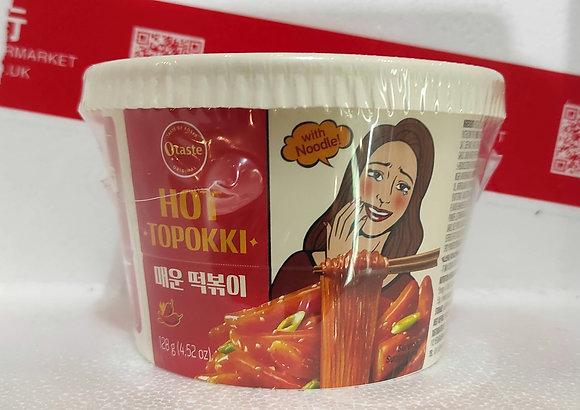 韩国年糕粉丝-辣 Rice Cake with Noodle Spicy