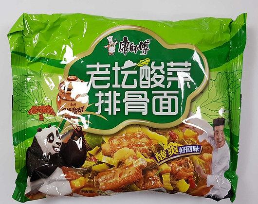 康师傅老坛酸菜排骨面 Kangs Pickled Veg. Ribs Flavour