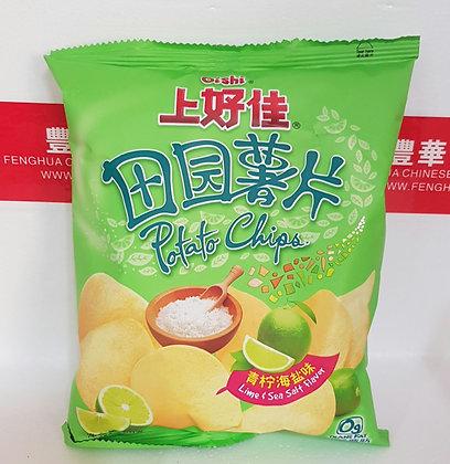 田园薯片-青柠海盐味 Lime and Sea Salt Crisps