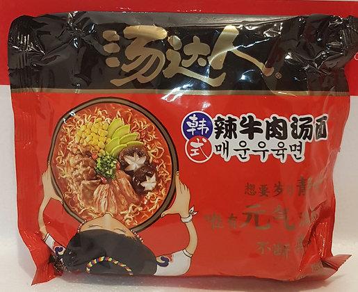 汤达人- 韩式辣牛肉汤面 TDR Spicy Korean Beef Noodle