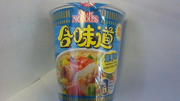 合味道 海鲜味 Nissin Cup Noodle Seafood
