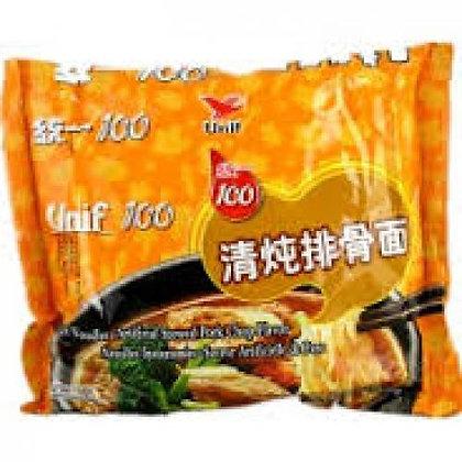 统一清炖排骨面 Unif Stewed Pork Flavour Noodles