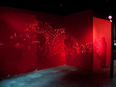 La boutique des frissons - scènographie - centre culturel - Laurence Yared - 1