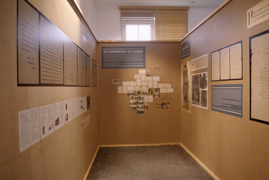 1914 Varengeville se souvient - scènographie - graphisme - exposition - Laurence Yared - 4