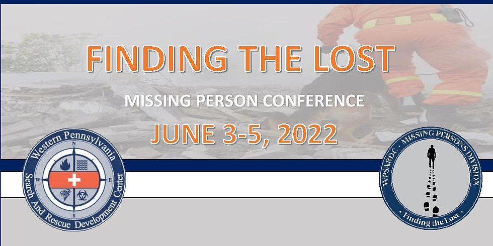 PA Missing Persons Conference - Finding The Lost - RESCHEDULED