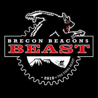 BRECON BEACONS BEAST  Logo for a charity mountain bike event.