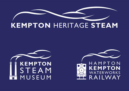 KEMPTON HERITAGE STEAM  This project involved the development of a new brand identity, together with a comprehensive set of guidelines to cover all aspects of the brand's implementation. It involved creating an overall Kempton Heritage Steam brand as well as separate, but clearly linked, identities for the museum and railway.