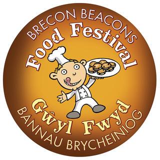 BRECON BEACONS FOOD FESTIVAL  The Festival organiser loves his cartoon alter-ego!