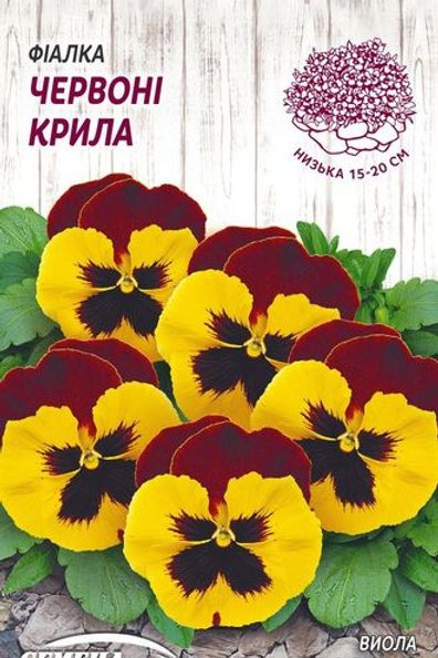 Виола Красные крылья /0,05г/ Семена Украины.