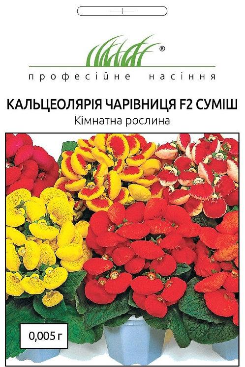 Кальцеолярия Волшебница /0,005г/ Професійне насіння.