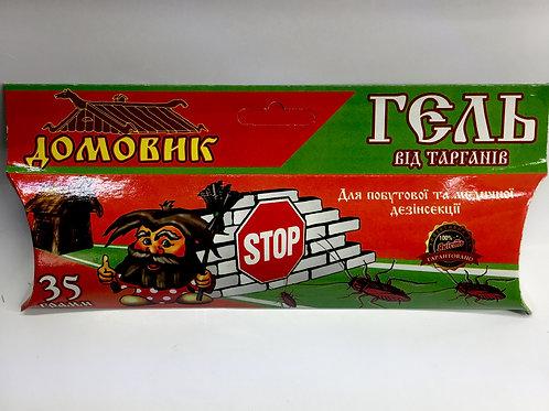 Домовик, шприц-гель от тараканов  /35 г/