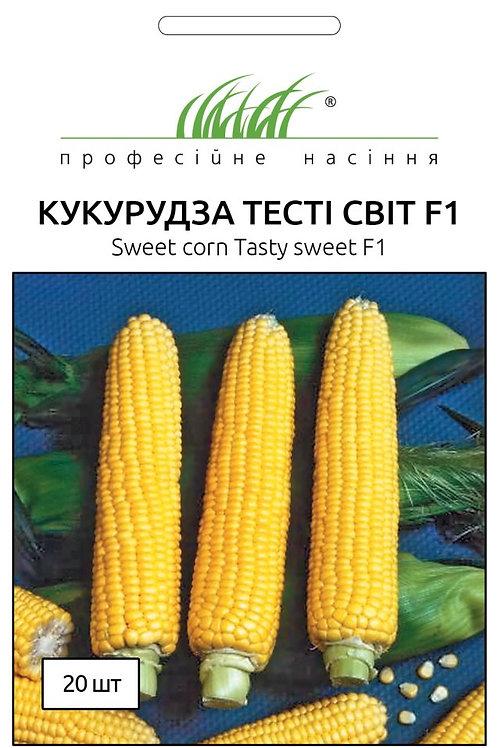 Кукуруза сахарная Тести Свит F1 /20шт/ Професiйне насiння.