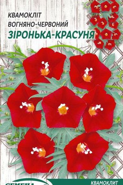 Квамоклит перестый Лиана красная /0,25г/ Семена Украины.